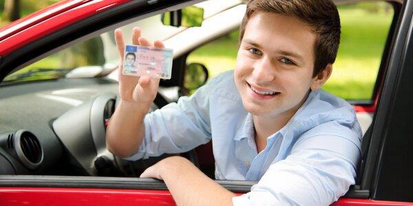 Rezervace autoškoly: řidičský průkaz skupiny B