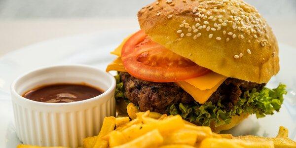 Burgermánie v Klatovech: Neotřelé menu