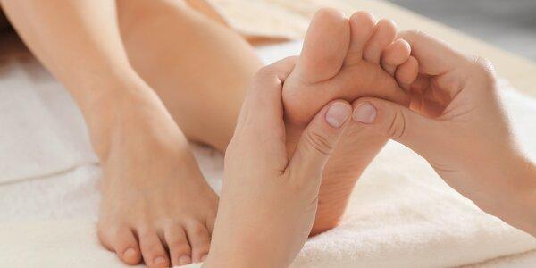 Reflexní 40minutová masáž chodidel