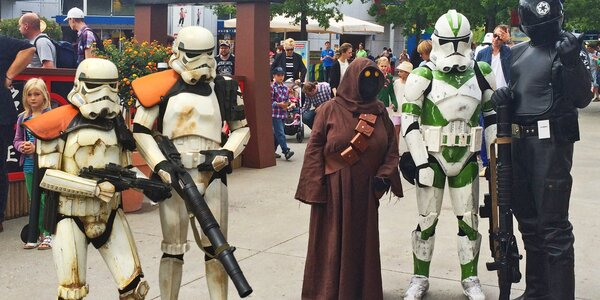 Den Star Wars v Legolandu vč. dopravy a vstupu