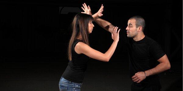 Měsíční kurz reálné sebeobrany pro ženy či muže