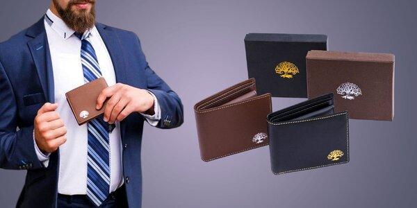 Peněženka, která chrání bezkontaktní karty