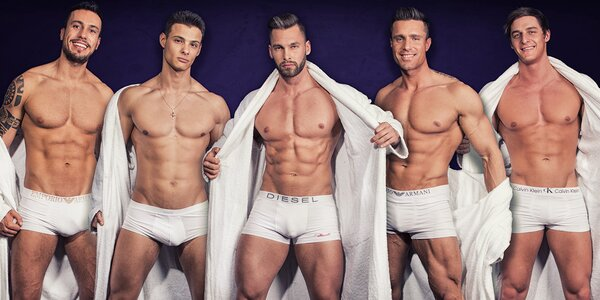 Žhavý pánský striptýz: Dream Men Show