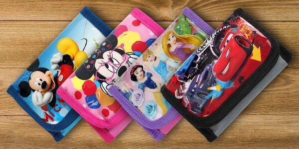 Dětské peněženky s potiskem Disneyho hrdinů