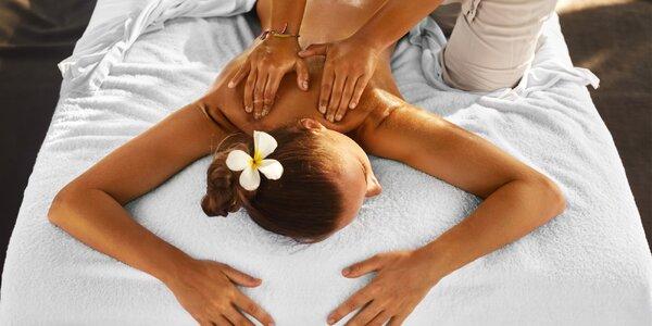 Relaxační thajská olejová masáž celého těla