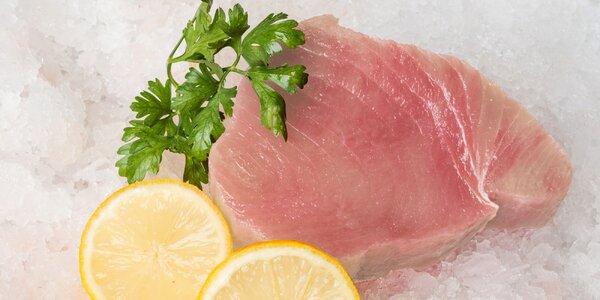100% rybí maso bez chemie: kilo steaků z marlina