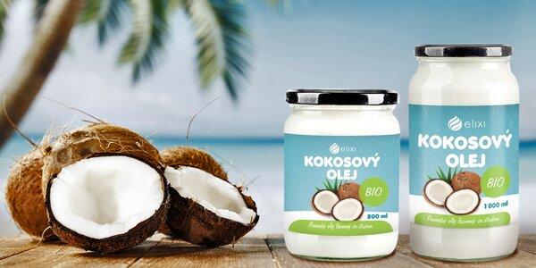 Panenský kokosový olej v bio kvalitě