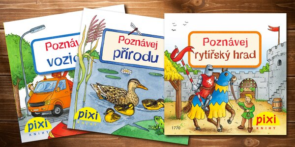 Sada naučných kapesních knížek pro děti
