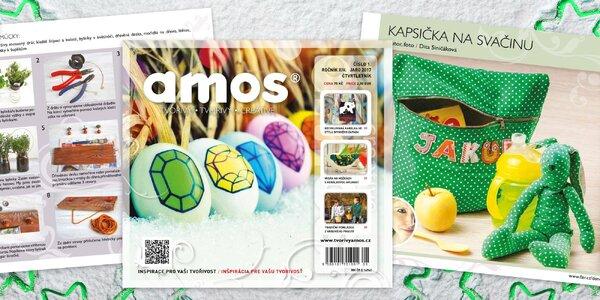 Roční předplatné časopisu Creative Amos