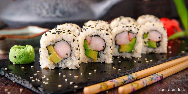 Pro dobrotu na dobrotu: 28 ks čerstvého sushi