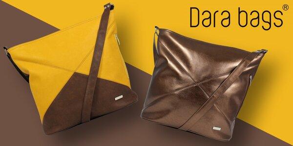 Kabelka Dara bags: velká, lehká, ručně šitá