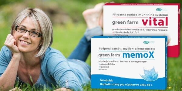 Tobolky Green Farm pro posílení paměti a imunity