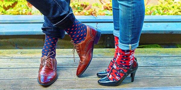 5 párů designových ponožek Rosenbull v krabičce