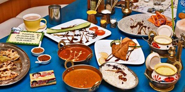 Indické a kašmírské speciality pro dvě osoby