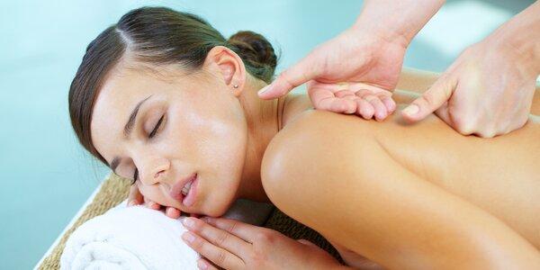 90minutový rozmazlující relaxační masážní balíček