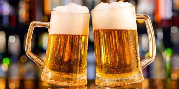 Dvě malá nebo velká piva z řemeslných pivovarů