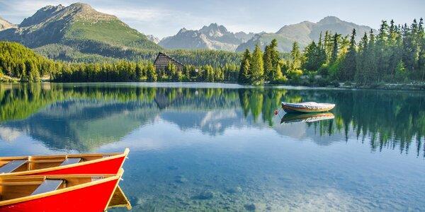 Pohoda ve Vysokých Tatrách se snídaní a saunou