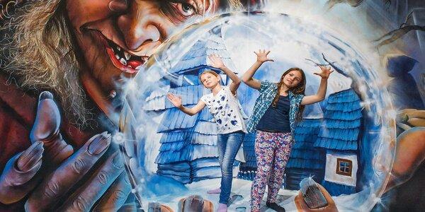 Tricklandia: galerie kouzelného umění a iluzí