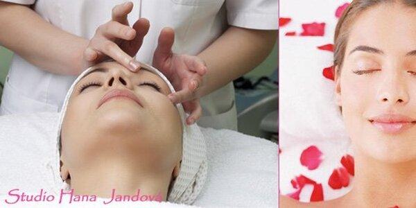 99 Kč za kosmetické ošetření pleti a dekoltu přírodní bylinnou kosmetikou.