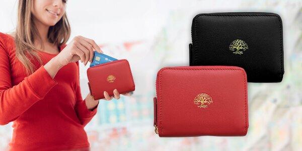 Dámská peněženka s ochranou platebních údajů