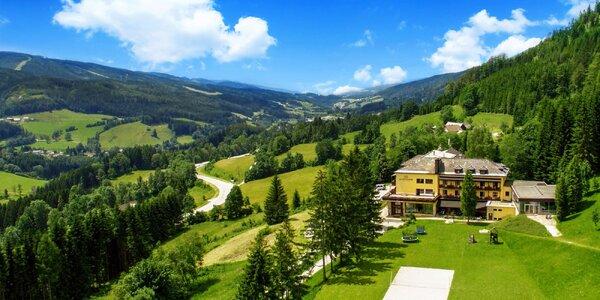 Pobyt v rakouských Alpách: se stravou i bazénem