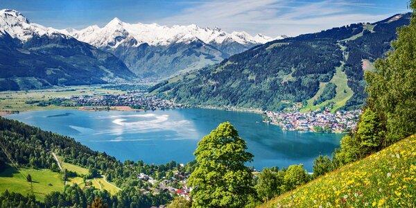 Rakousko: Vyhlídka na Grossglockner a Zell am See