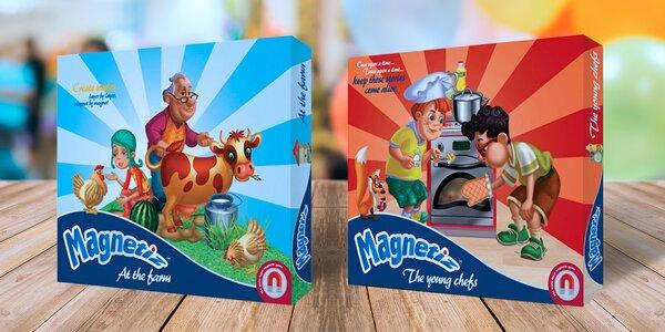 Magnetická hra Magnetiz: pusťte uzdu dětské fantazii