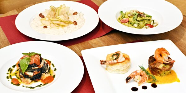 V italském rytmu: 4chodové menu pro dvě osoby