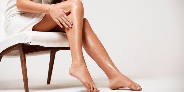 Krásné nohy bez únavy - Aroma koupel + masáž