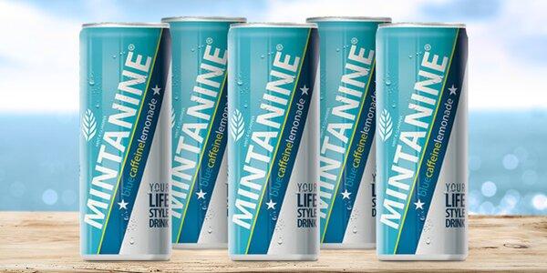 Svěží limonáda Mintanine bez umělých sladidel