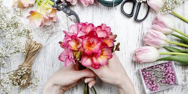 Letní floristický kurz