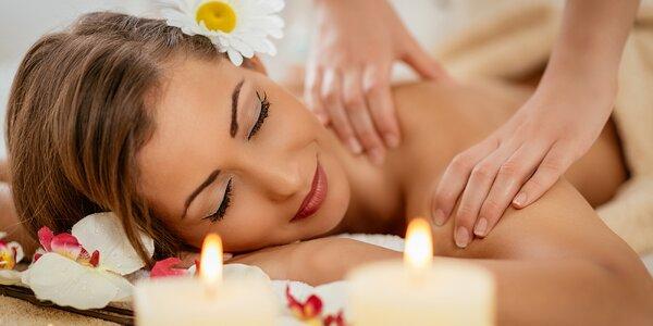 60minutová relaxačně uvolňovací masáž