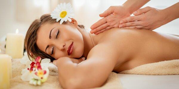 Letní hodinová relaxační masáž