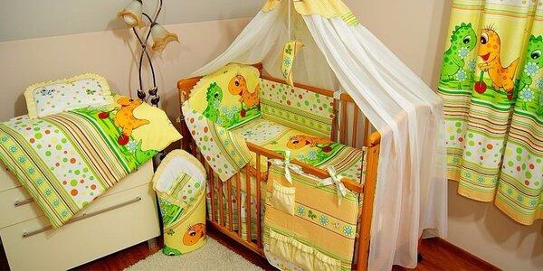 Dětská postýlka s kompletní výbavou