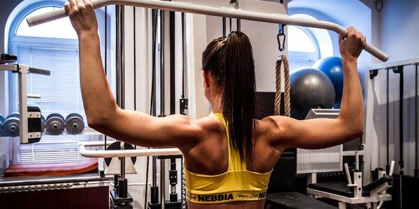 Vstup do dámského fitness v Plzni