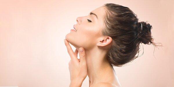 50minutová kosmetická péče kyselinou hyaluronovou