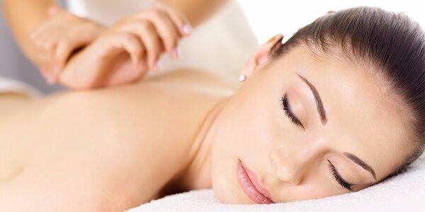 Hodinová masáž zad, šíje a končetin