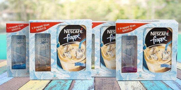 Ledová káva Nescafé frappé se sklenicí zdarma
