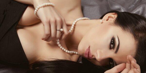 Šperky ze sladkovodních i tahitských perel