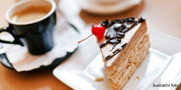 Káva dle vlastního výběru + domácí koláč