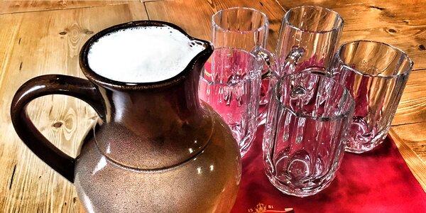 Džbánek, co osvěží: 2,5 litru piva dle výběru