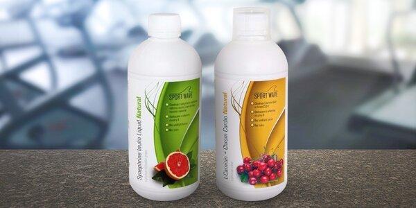 2 balení L-Carnitinu pro snazší hubnutí