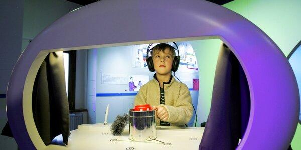 Rodinné vstupné na interaktivní výstavu