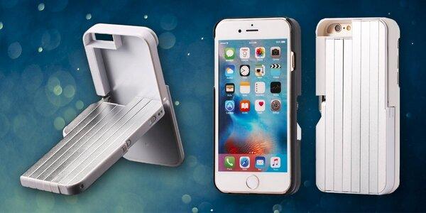 Kryt s instalovanou selfie tyčí pro iPhone 6