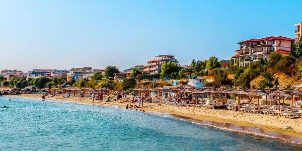 Týden v Bulharsku: letecká doprava i polopenze