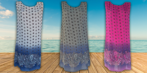 Lehounké letní šaty
