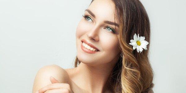 Základní kosmetické ošetření pro dámy