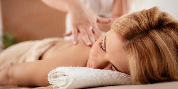 Relaxace při masáži dle vlastního výběru