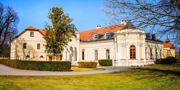 Romantický pobyt na zámku z 18. století pro 2