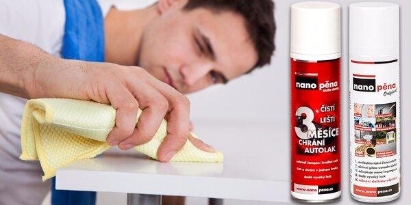 Nano pěna na jednoduché čištění a vysoký lesk